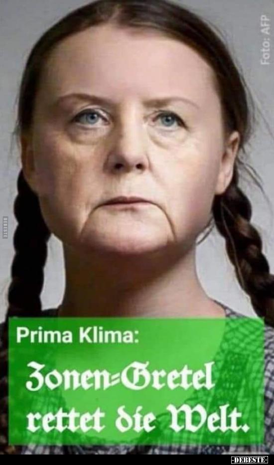 Prima Klima: Zonen - Gretel rettet die Welt.. | Lustige