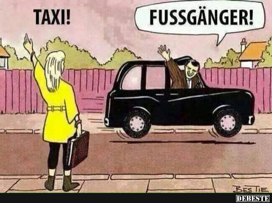 Taxi Lustige Bilder Spr 252 Che Witze Echt Lustig