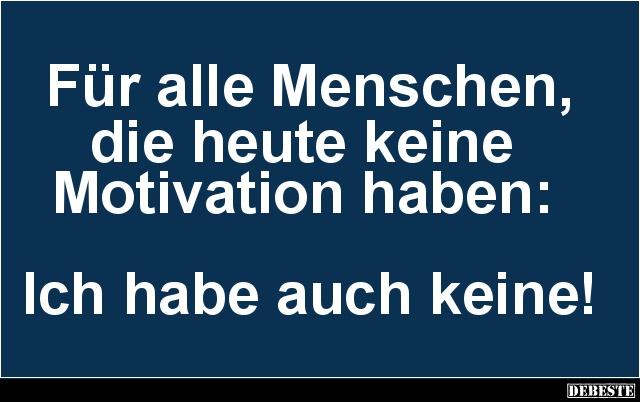 motivation sprüche lustig