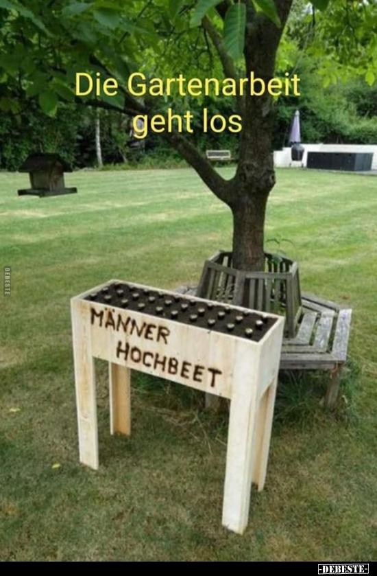 Die Gartenarbeit Geht Los Lustige Bilder Sprüche Witze