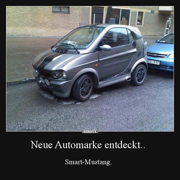 Neue Automarke entdeckt.. | Lustige Bilder, Sprüche, Witze, echt