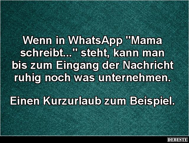 whatsapp schreibt