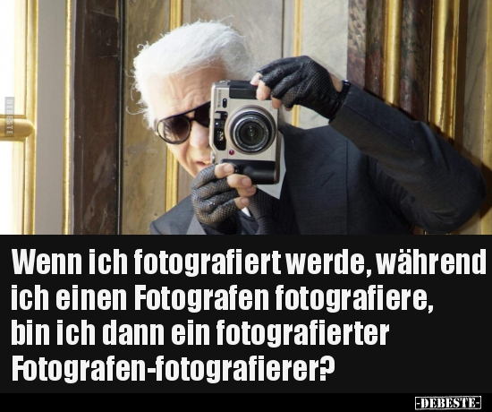 Wenn Ich Fotografiert Werde Während Ich Einen Fotografen
