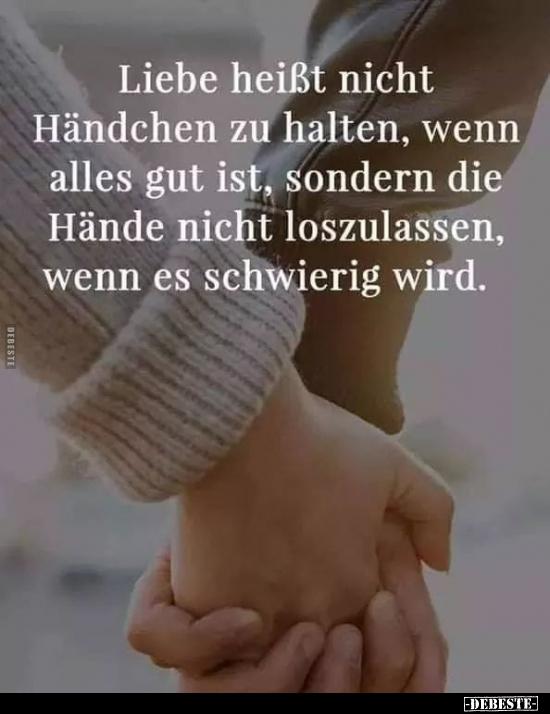 Liebe händchen halten händchen halten/fentonia.comschaft?
