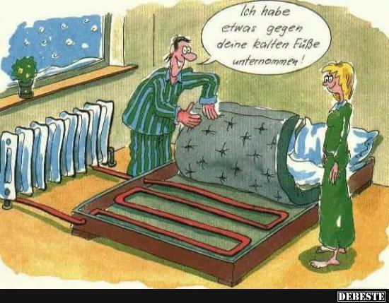 ich habe etwas gegen deine kalten f e unternommen lustige bilder spr che witze echt lustig. Black Bedroom Furniture Sets. Home Design Ideas