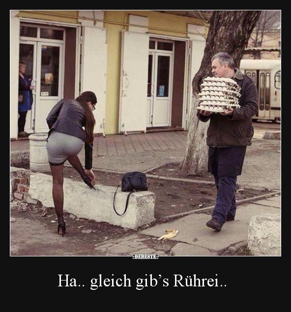 Ha gleich gib s r hrei lustige bilder spr che - Lustige bilder fa rs wochenende ...