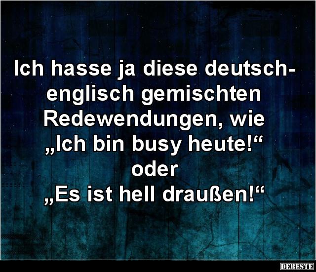 Englische sprüche deutsch traurige Sprüche