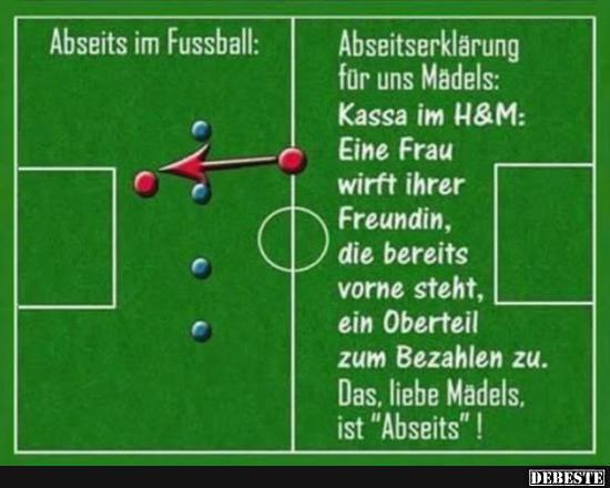 FuГџballregeln Abseits