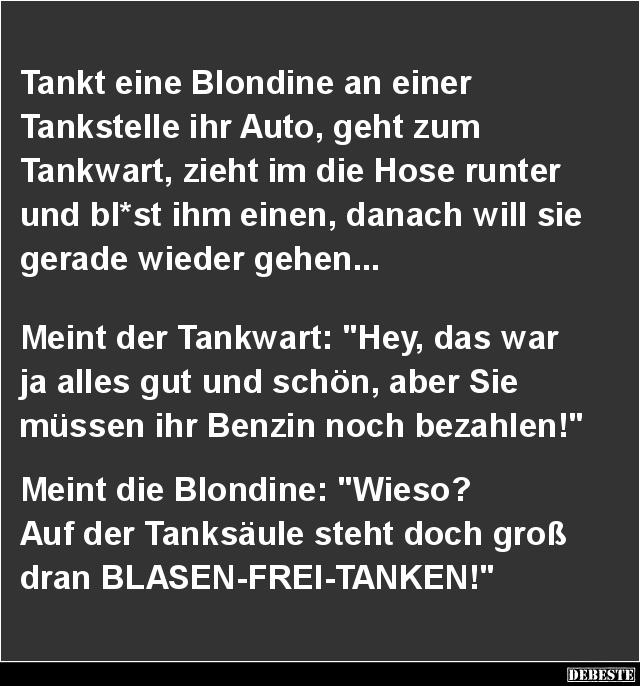 Tankstellen Witze