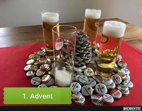 1. Advent..   Lustige Bilder, Sprüche, Witze, echt lustig