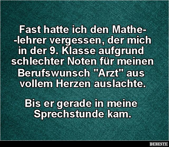 lehrer witze mathe