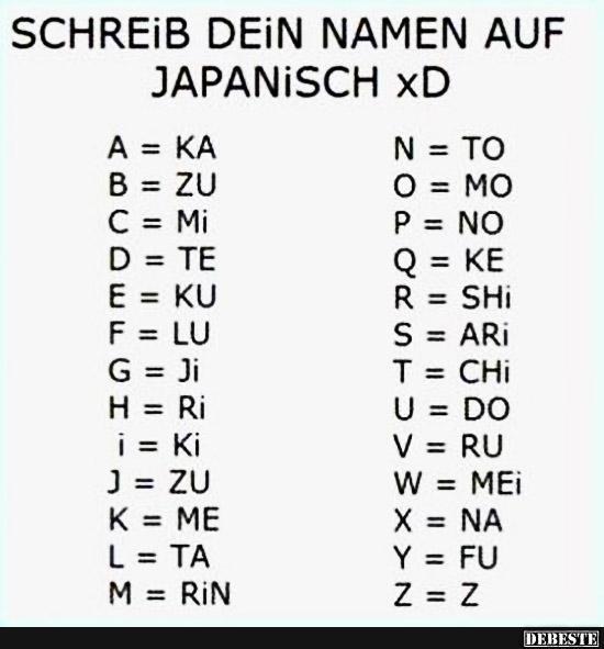Namen Witze Und Sprüche