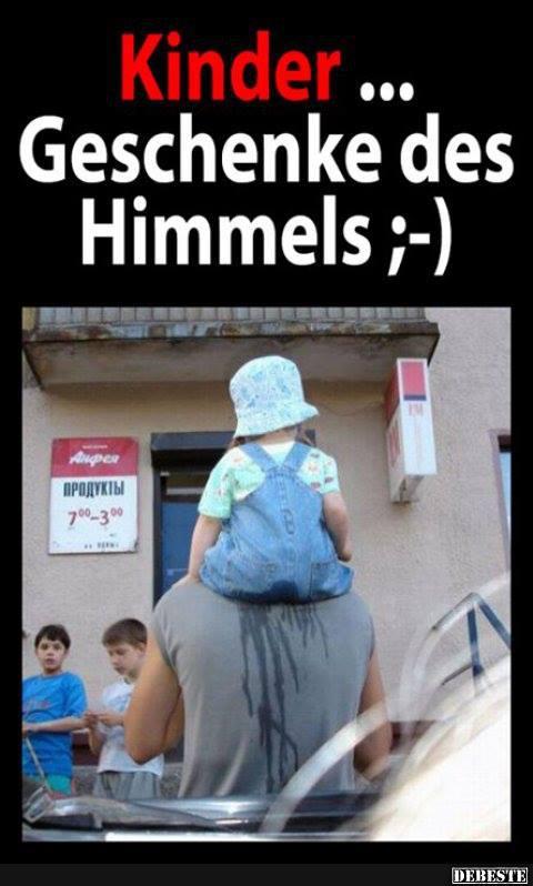 Kinder.. Geschenke des Himmels ;) | Lustige Bilder, Sprüche, Witze ...
