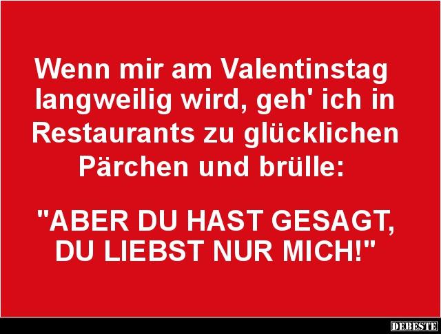 lustige sprüche valentinstag Wenn mir am Valentinstag langweilig wird.. | Lustige Bilder  lustige sprüche valentinstag