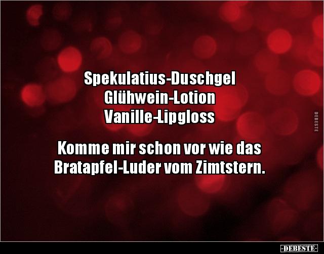 Spekulatius Duschgel Glühwein Lotion Lustige Bilder