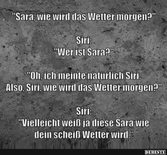 lustige sprüche wetter Sara, wie wird das Wetter morgen? | Lustige Bilder, Sprüche, Witze  lustige sprüche wetter