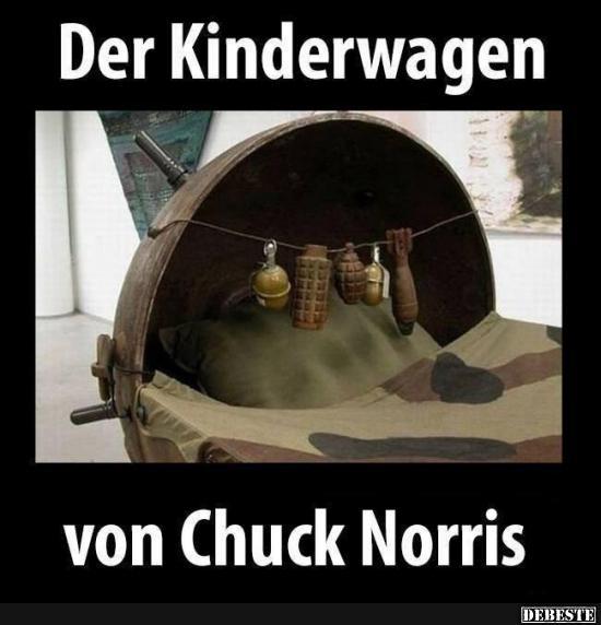 Der Kinderwagen Von Chuck Norris Lustige Bilder Sprüche