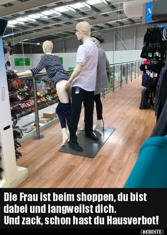 Sex Beim Shoppen