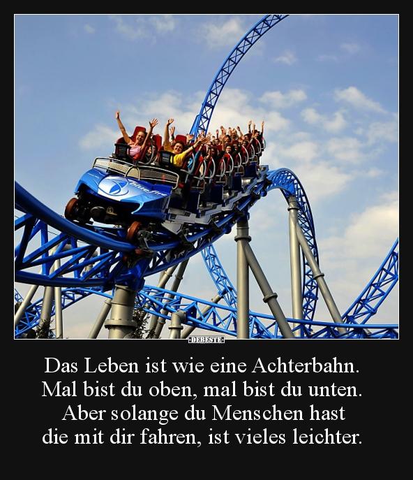 achterbahn Witze und Sprüche - DEBESTE.de