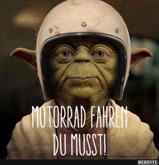 Motorradfahren Du Musst Lustige Bilder Spruche Witze Echt Lustig