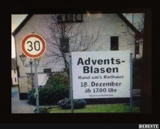 Advents Blasen Lustige Bilder Sprüche Witze Echt Lustig