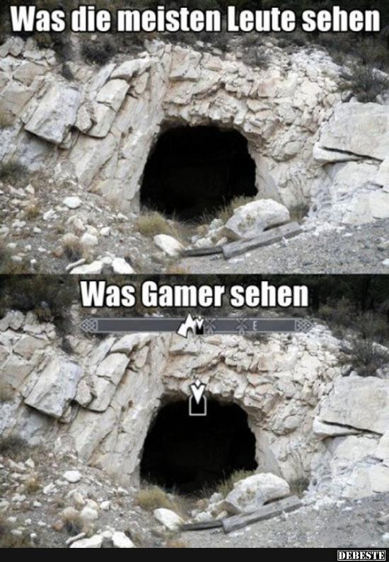 gamer sprüche Was die meisten Leute sehen / Was Gamer sehen.. | Lustige Bilder  gamer sprüche