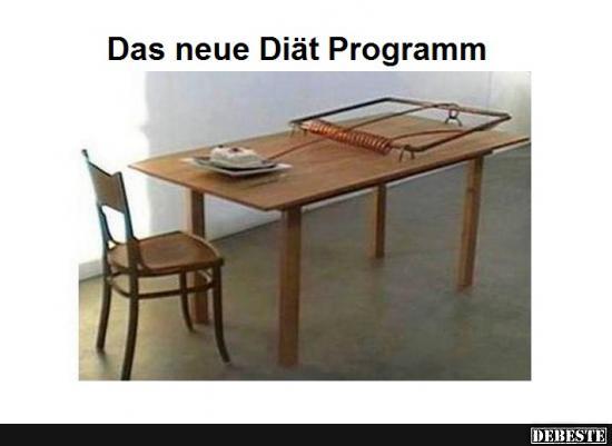 Das Neue Diat Programm Lustige Bilder Spruche Witze Echt Lustig