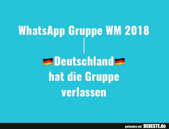 Whatsapp Gruppe Wm 2018 Lustige Bilder Sprüche Witze Echt Lustig