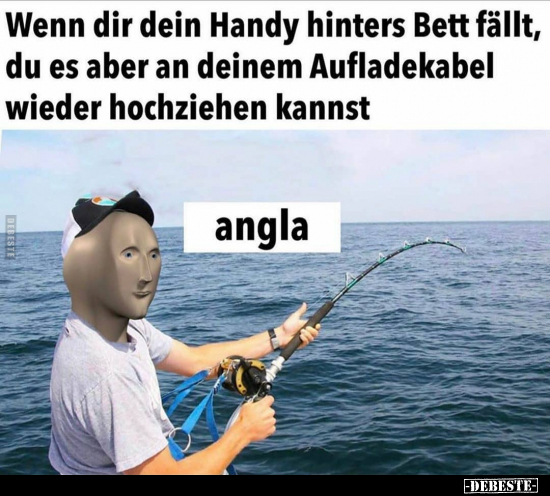 Bilder lustige kostenlos angler √ Fische