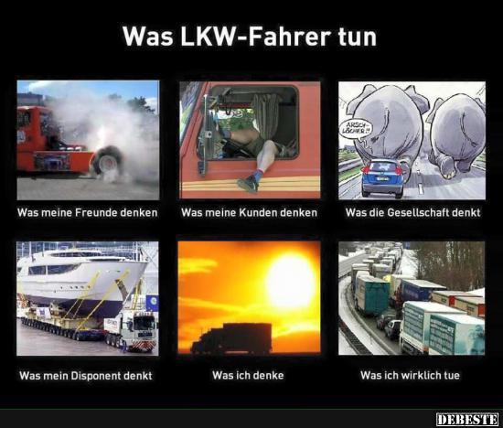 Was Lkw Fahrer Tun Lustige Bilder Sprüche Witze Echt