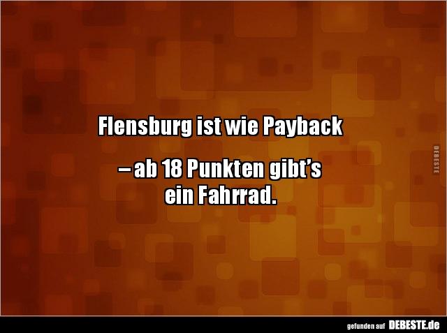 Flensburg Ist Wie Payback Ab 18 Punkten Gibt Sein Lustige