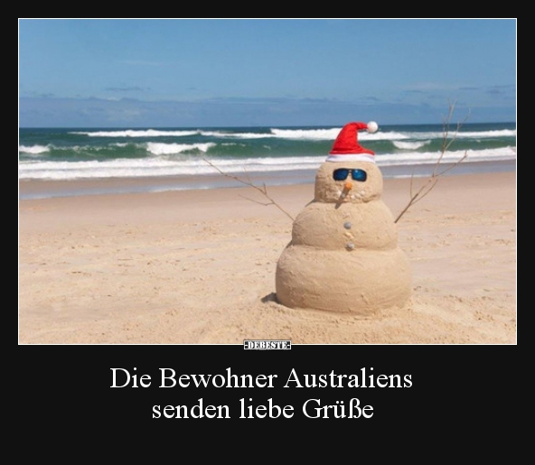 Die Bewohner Australiens Senden Liebe Grusse Lustige Bilder