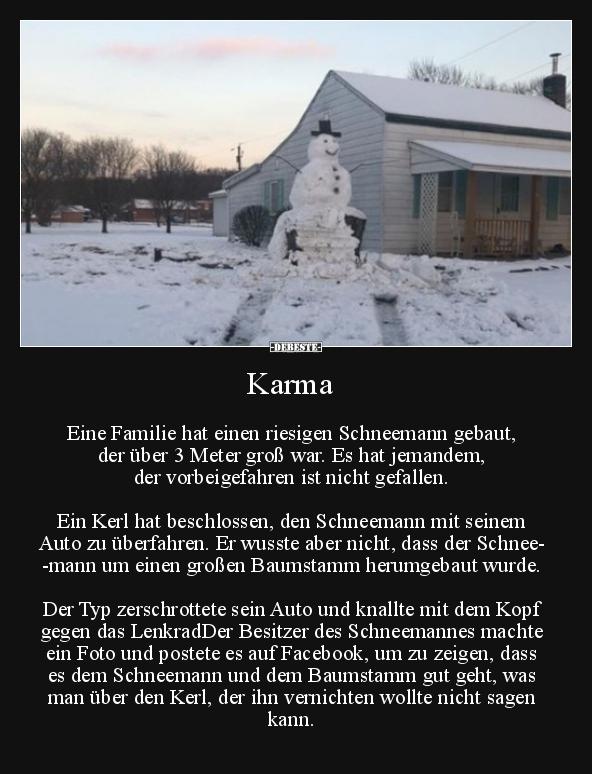 sprüche karma