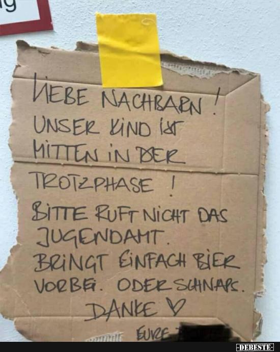 Liebe Nachbarn Lustige Bilder Spruche Witze Echt Lustig