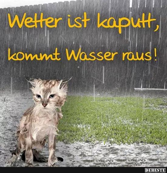 Lustige Bilder übers Wetter