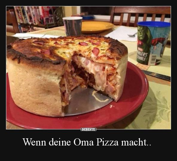 Pizza Witze und Sprüche - DEBESTE.de