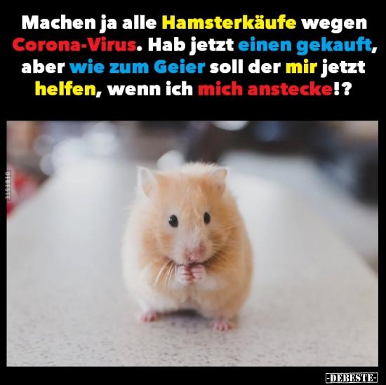Hamsterkäufe Lustig