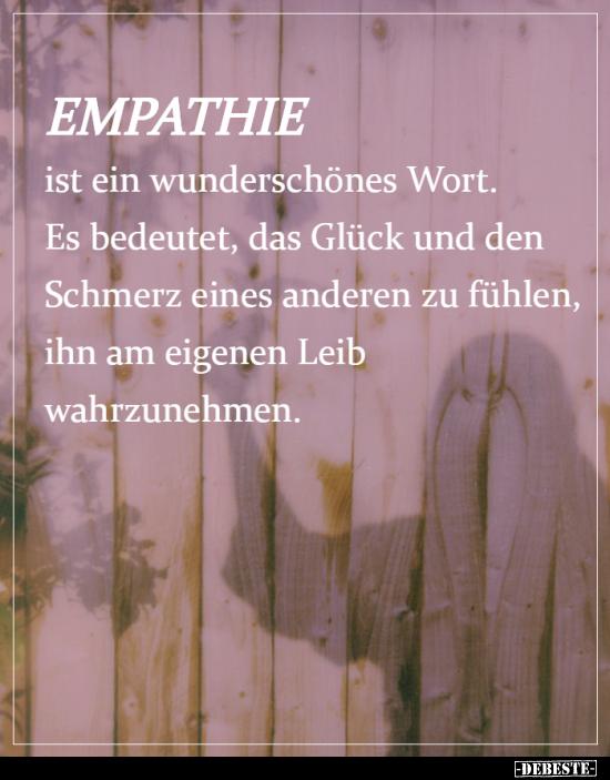 Empathie zitate Arno Gruen
