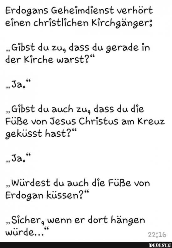 Christliche Witze für die Kirche
