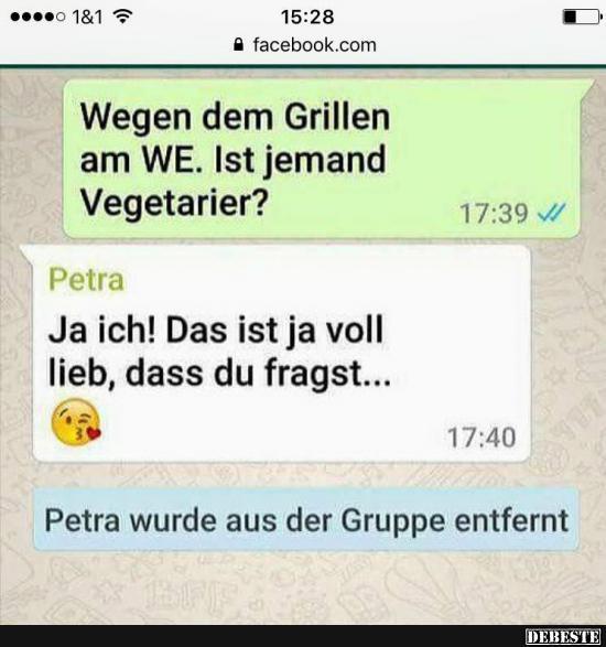 vegetarier sprüche lustig