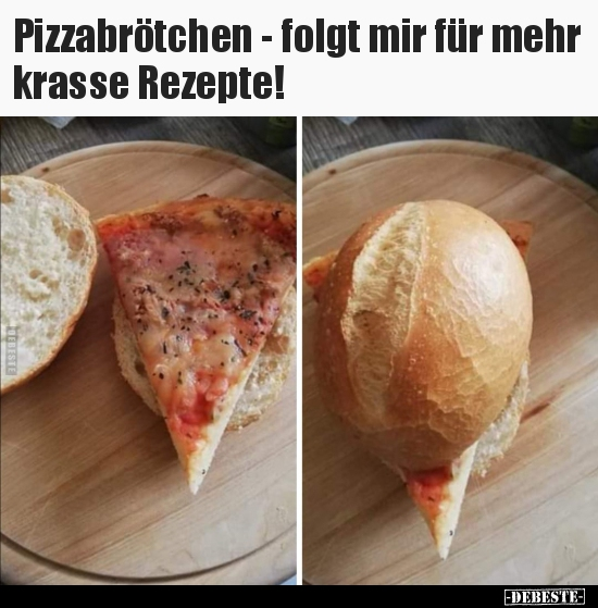 Witze pizza Funny things