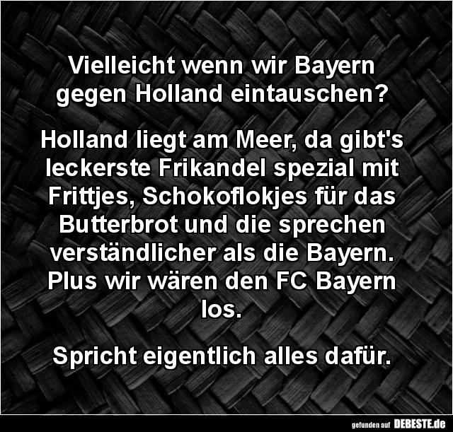 Fc Bayern Witze Und Sprüche Debestede