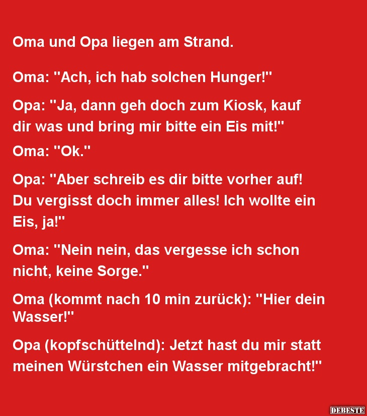 Witze oma opa