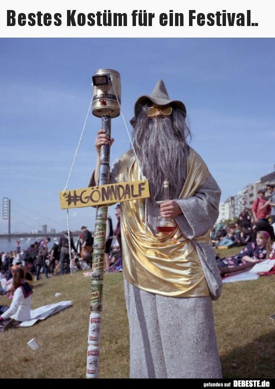 Bestes Kostüm Für Ein Festival Lustige Bilder Sprüche