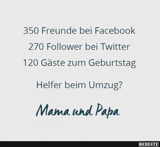 350 Freunde bei Facebook.. | Lustige Bilder, Sprüche, Witze, echt