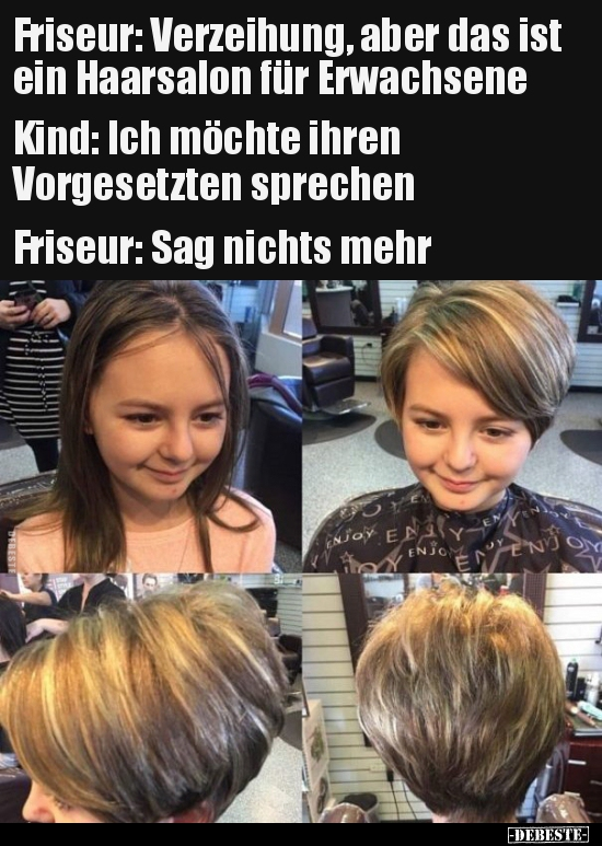 Friseur Verzeihung Aber Das Ist Ein Haarsalon Fur Lustige