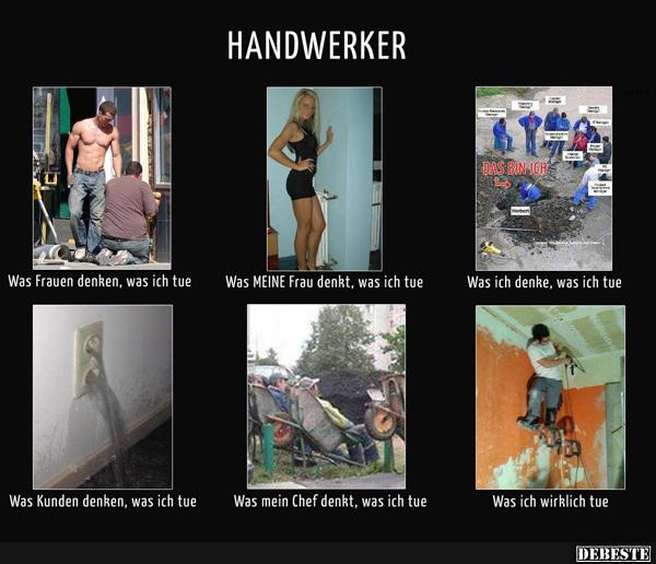 Handwerker.. | Lustige Bilder, Sprüche, Witze, echt lustig