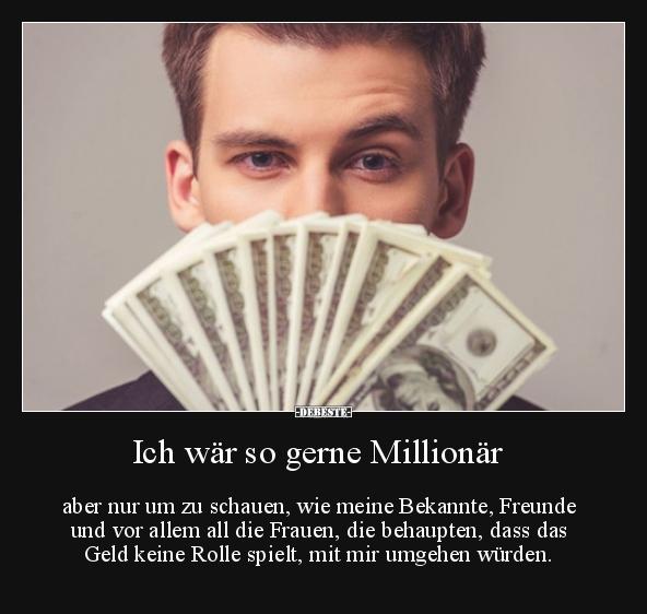 Ich Wäre So Gerne Millionär
