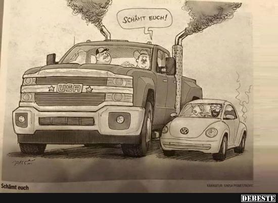 vw sprüche In Amerika war das mit VW ganz wichtig | Lustige Bilder  vw sprüche