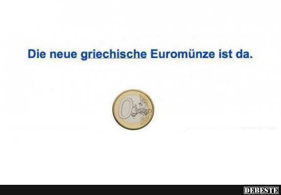 griechische sprüche Die neue griechische Euromünze ist da. | Lustige Bilder, Sprüche  griechische sprüche